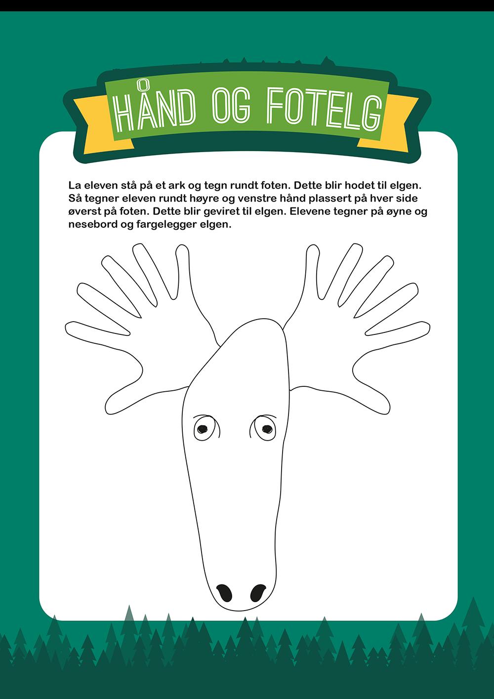 Hånd og fot elg