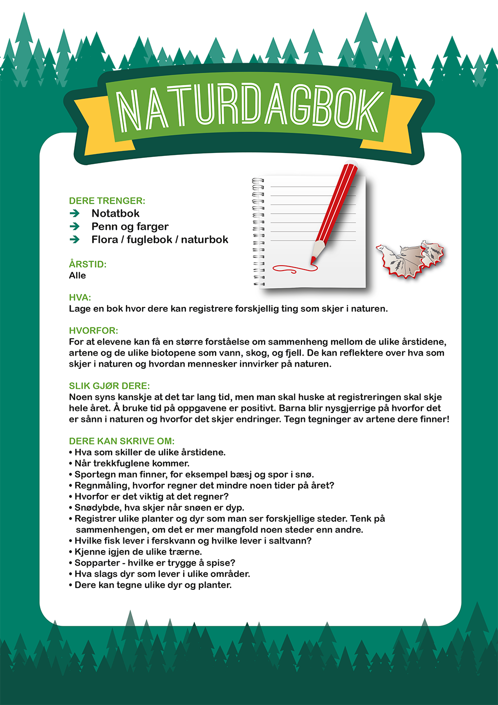Naturdagbok